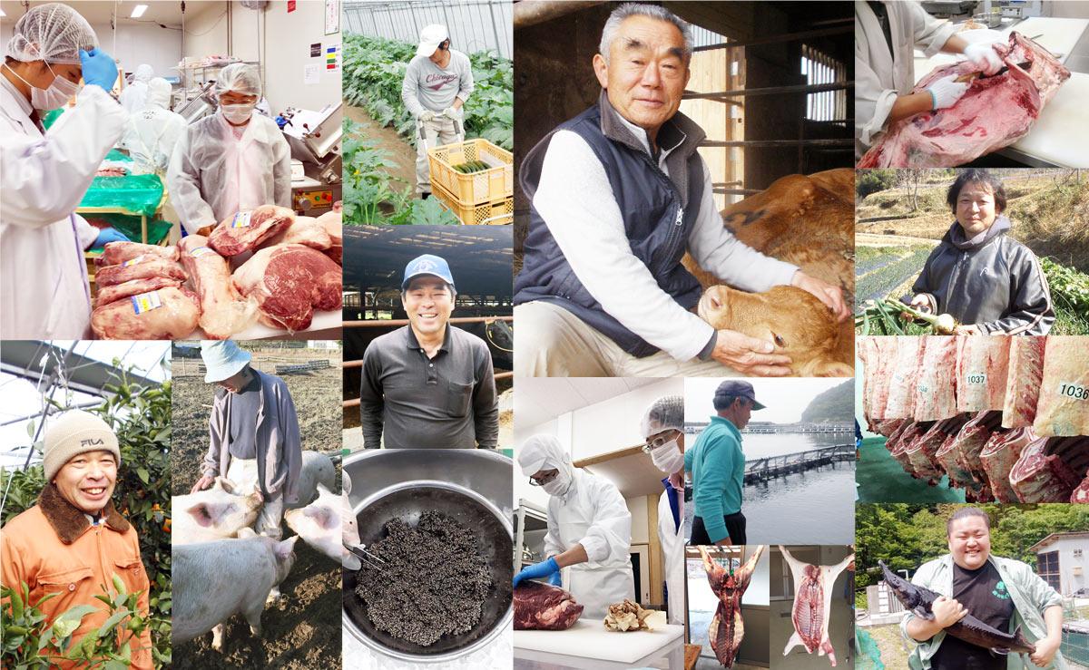 田屋カンパニーでは「厳選した商品」と「生産者様の想い」をお届けしています。